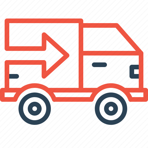 delivery, export, logistic, shipping, supply, transport, truck icon