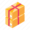parcels, delivery packaging, cartons, packages, delivery packages