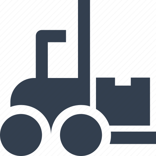car, delivery, forklift, lift, loading, logistic, service, shipping, transport, transportation icon