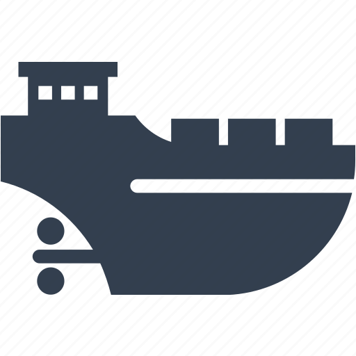 boat, cargo, delivery, freight, logistic, ocean, sea, service, ship, shipping, transport, transportation, vesel icon