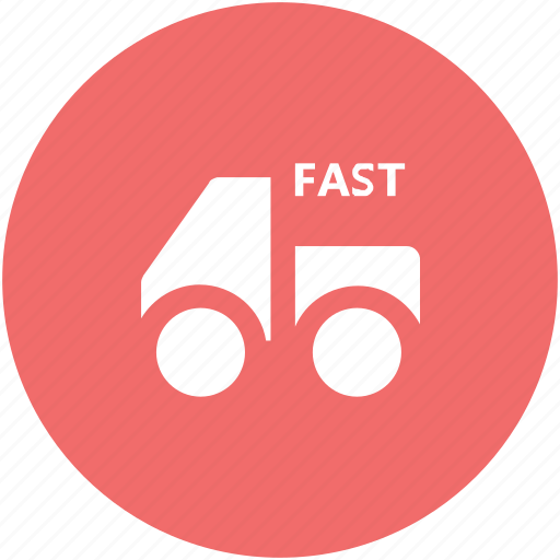 delivery car, delivery van, hatchback, pick up van, shipment, van, vehicle icon