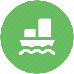 cruise, luxury cruise, ship, shipment, shipping, steamboat, vessel icon