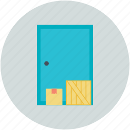 building, storage garage, storage unit, storehouse, warehouse exterior icon