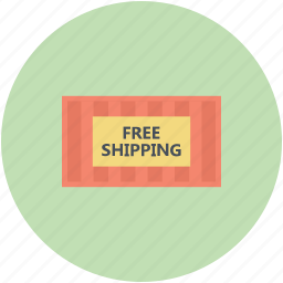delivery, export, free shipping, freight, merchandise, shipment icon