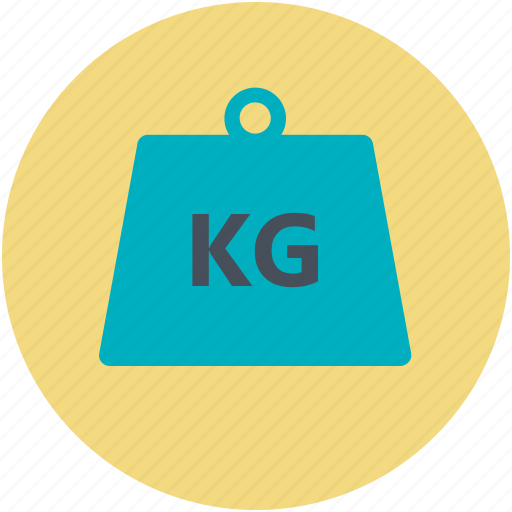 bodybuilding, dumbbell, kettlebell, kg, weight icon