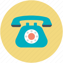 call, communication, retro telephone, telecommunication, telephone icon