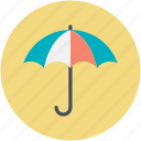 rain protection, raining, rainy weather, umbrella, weather icon