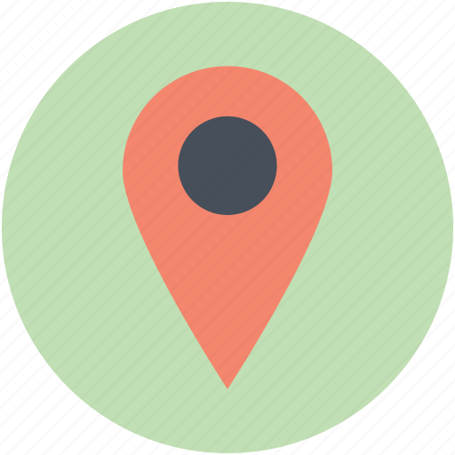 location pin, locator, map locator, map marker, map pin icon