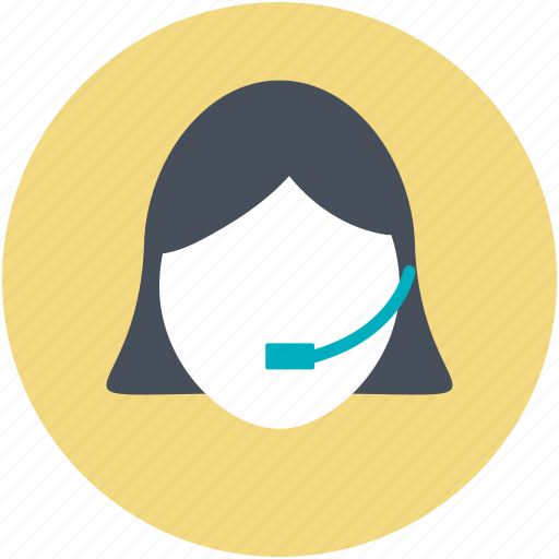 call center, call service, consulting assistant, helpline, phone operator icon