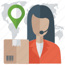 call order, delivery services, location pointer, logistics points, shipping address, shipping delivery location icon