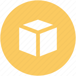 box, case, container, delivery box, package, packing, square icon