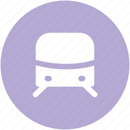 auto, locomotive, subway, subway train, tram, tramway, transport, vehicle icon