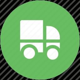 delivery car, delivery van, hatchback, pick up van, transport, van, vehicle icon