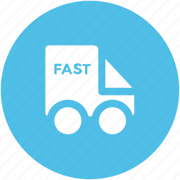 delivery car, delivery van, distribution, fast delivery, hatchback, van, vehicle icon