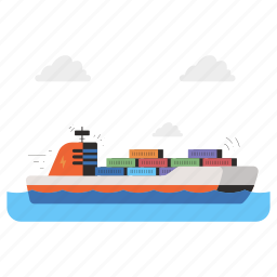 delivery, transportation, logistic, ship, container, shipping, transport