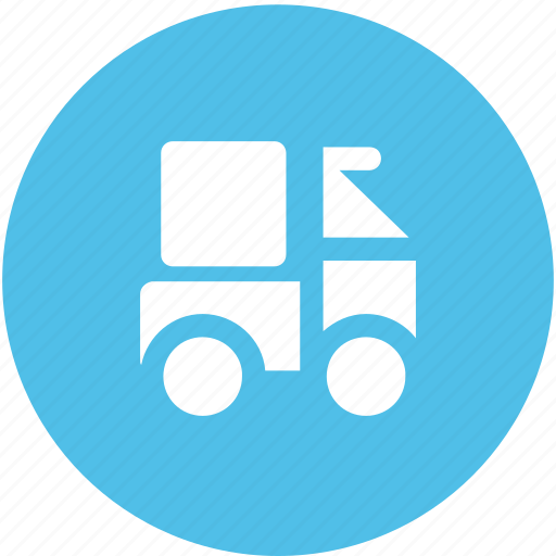 delivery car, delivery van, hatchback, pickup van, van, vehicle icon