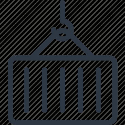 cargo, cargo container, container, shipping, shipping container icon icon