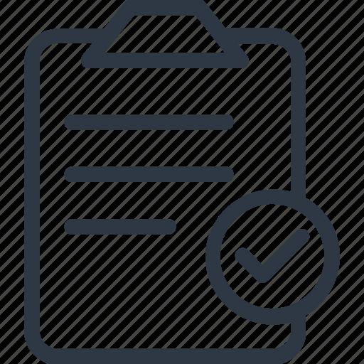 check mark, check sign, checked, clipboard icon icon