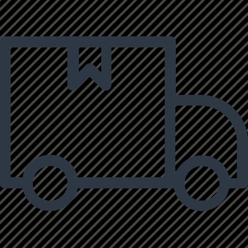 delivery transport, delivery van, transport, van, vehicle icon icon