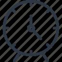 alarm, alarm clock, clock, timer icon icon