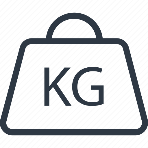 Kg  Kg Weight  Kilogram  Kilogram Weight  Weight Tool Icon