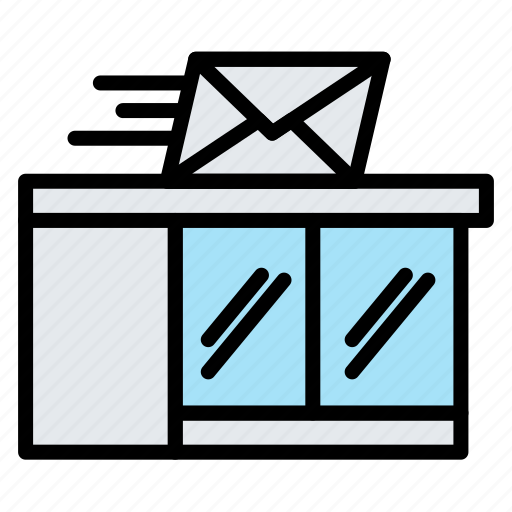 Delivery, logistic, office, package, post icon - Download on Iconfinder