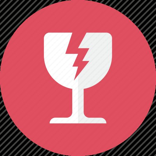 Fragile, glass icon - Download on Iconfinder on Iconfinder