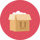 box, open icon