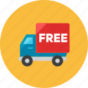 free, truck icon