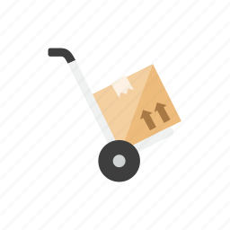 box, trolley icon