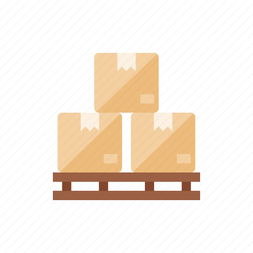 boxes, products, shipment, shipping icon