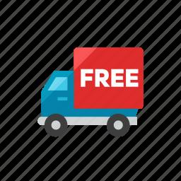 free, truck icon