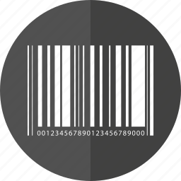 barcode, code, delivery, id, logistic, traffic, transport icon