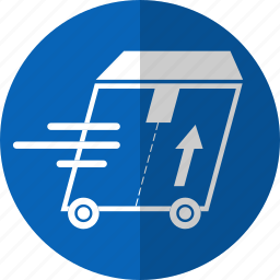 box, delivery, logistic, shipping, transport, truck icon