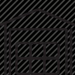 godown, logistic, storehouse, transport, warehouse icon
