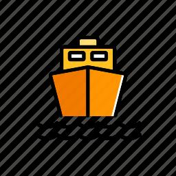 cargo, freight, sea, ship, shipping, transport, transportation icon