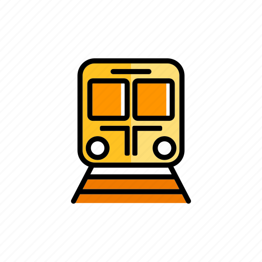 cargo, freight, locomotive, railroad, train, transport, transportation icon