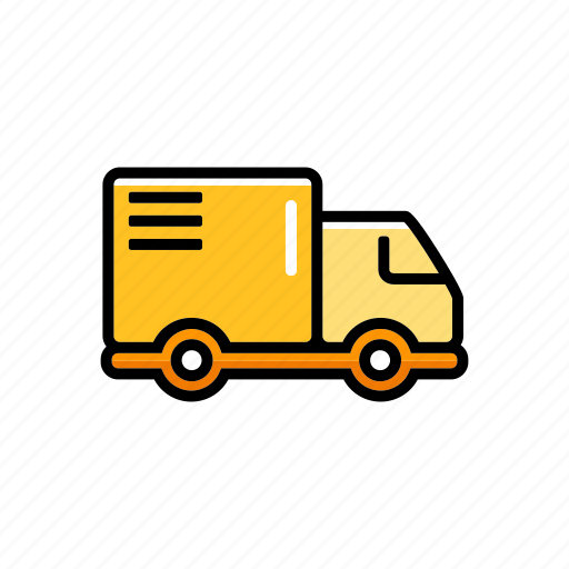 cargo, delivery, lorry, shipping, transportation, truck, vehicle icon
