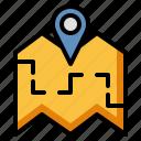 map location, address, placeholder, guide, navigator
