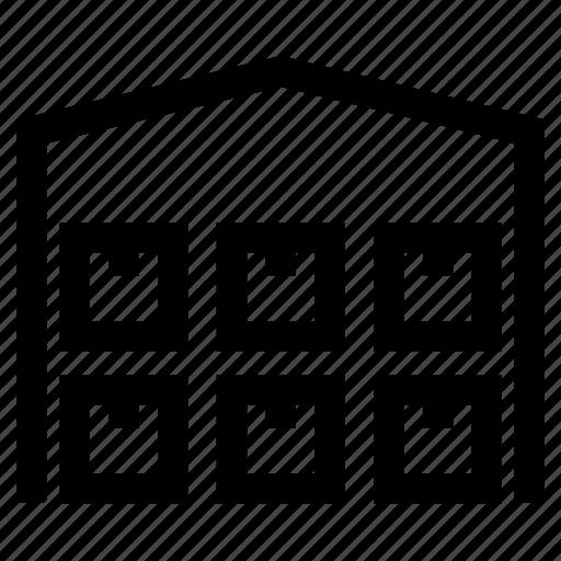 depot, logistics, storage, warehouse icon