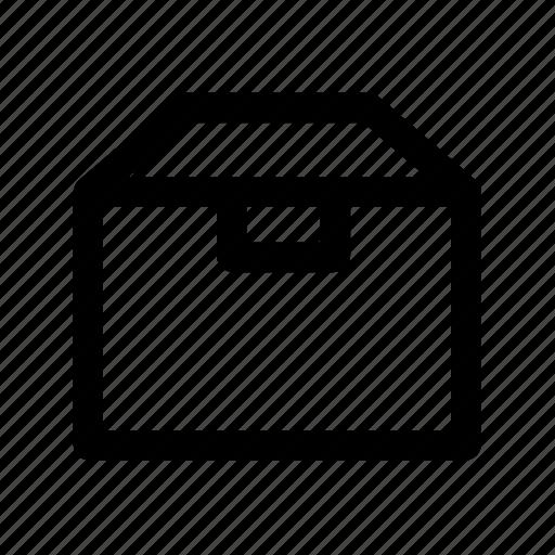 box, package, shipment icon