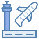 aeroplane, airplane, cargo, flight, shipment, transport icon