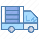 cargo, delivery truck, delivery van, logistics, shipment, transport icon