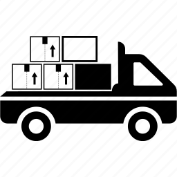 automobile, box, car, delivery, logistic, transport, truck icon