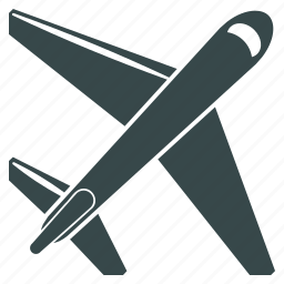 aeroplane, aircraft, airline, airliner, airplane, airship, jet plane icon