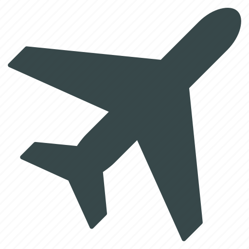 air plane, aircraft, airline, airplane, airport, aviation, flight icon