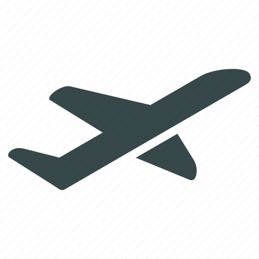 aeroplane, airplane, departure, launch, start, take off, takeoff icon