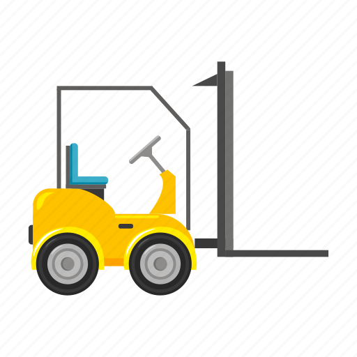 delivery, electric car, loader, logistics, supply, transport icon