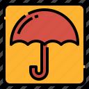box, logistics, package, shipping, sign, umbrella