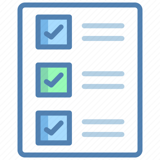 checklist, clipboard, notes, plan, shopping list, task, todo list icon